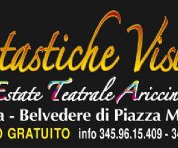Locandina: Fantastiche visioni, VII edizione ad Ariccia