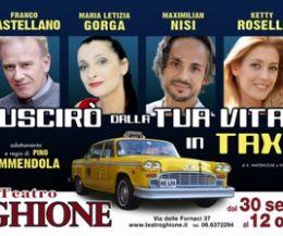 Locandina: Uscirò dalla tua vita in taxi