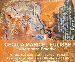 Locandina: Cecilia Maricel Eulisse. Alternanze emotive