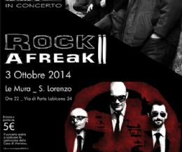Locandina: Rock Afreak II second edition cin I MUG e gli IBRIDO_XN