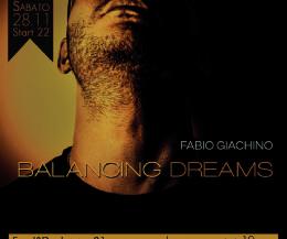 """Locandina: Fabio Giachino in """"BALANCING DREAMS"""" @ L'Archivio14 (Rome)"""