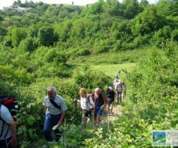 Locandina: Camminare lungo i sentieri del Parco del Treja