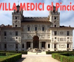 Locandina: Villa Medici al Pincio, la sede dell'Accademia di Francia