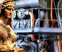 Locandina: Archeologia industriale alla Centrale Montemartini