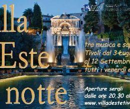 Locandina: Villa d'Este di notte 2015