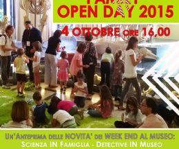 Locandina: Family open day 2015