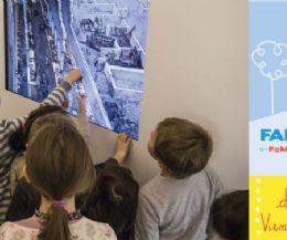 Locandina: Famiglie al museo