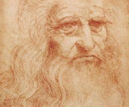 Locandina: Leonardo da Vinci. L'autoritratto