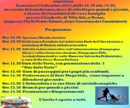 "Locandina: 4° Memorial ""L'Arcobaleno in Festival"""