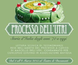Locandina: Il Processo dell'Utri. Storia d'Italia dagli anni '70 a oggi