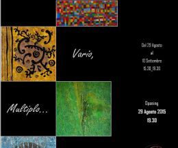 Locandina: Vario, Multiplo... e Multiforme