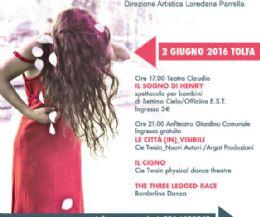 Locandina: Rassegna direzioniAltre: danza e teatro a Tolfa