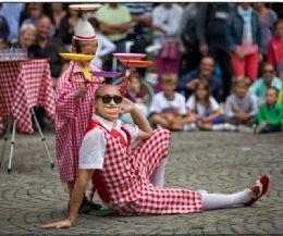 Locandina: I° Festa nazionale del Circo Sociale