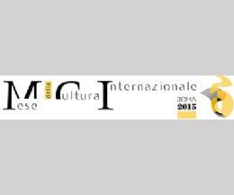Locandina: Mese della Cultura Internazionale Roma 2015