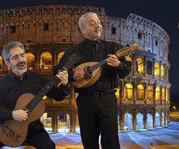 Locandina: Una serata con le canzoni napoletane e romane