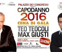 Locandina: Capodanno 2016 a Palazzo dei Congressi