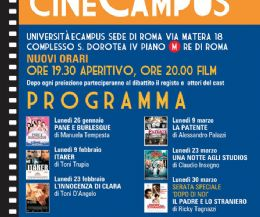 "Locandina: Riprende il CineCampus con ""Pane e Burlesque"" di Manuela Tempesta"