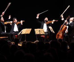 """Locandina: Nuovo concerto del ciclo """"Esplorando Beethoven"""" con il Quartetto di Cremona"""