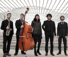 Locandina: Twins Quintet, tra i protagonisti del cartellone musicale di aprile