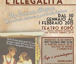 Locandina: L'Unica Via D'Uscita L'Illegalità