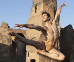 Event poster: Roberto Bolle and Friends The Baths of Caracalla