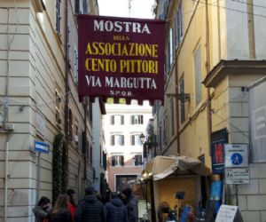 Locandina evento: I Cento Pittori di Via Margutta