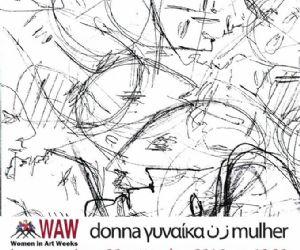 Locandina: Essere donna, essere artista, donna mulher