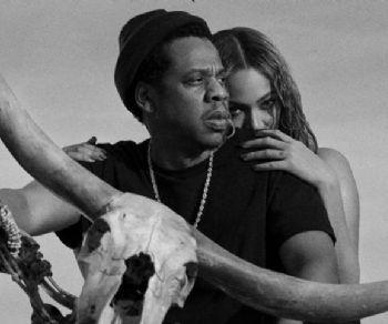 Locandina: JAY-Z and Beyoncé