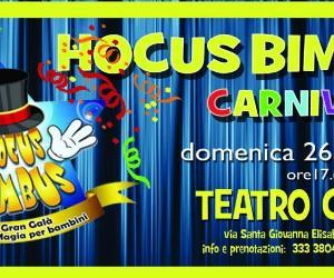 Locandina: Hocus bimbus Carnival