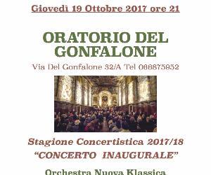 Concerti - Oratorio del Gonfalone