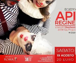 Locandina: Laboratorio Teatrale DGP: API REGINE