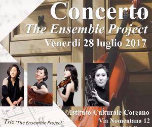 Locandina: The Ensemble Project in concerto