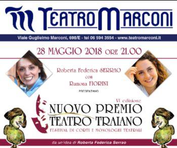 Locandina: Premio Teatro Traiano