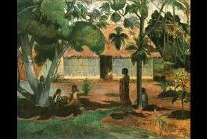 Locandina: Paul Gauguin. Te ra au rahi (The large tree)