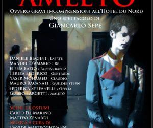 Locandina: Amletò (gravi incomprensioni all'Hotel du Nord)
