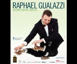 Locandina evento: Raphael Gualazzi Quintet. Welcome to my hell tour 2014
