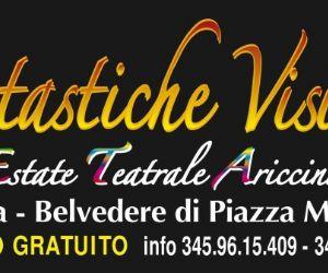Locandina evento: Fantastiche visioni, VII edizione ad Ariccia