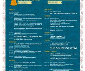 Locandina evento: 41° Edizione della Sagra del Cesanese di Olevano Romano