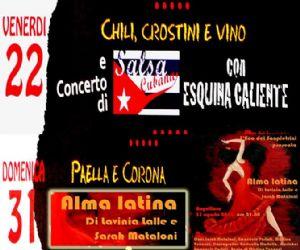 "Locandina evento: ""Alma Latina"""