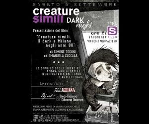 Locandina evento: Creature Simili Dark Night