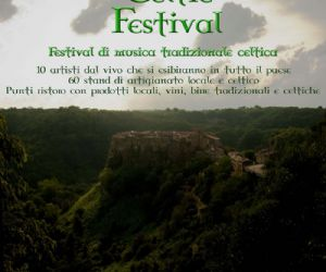 Locandina evento: Calcata Celtic Festival