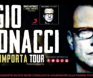 Locandina evento: Biagio Antonacci L'Amore Comporta Tour 2014