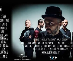 Locandina evento: Subsonica live al Palalottomatica a novembre