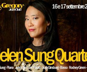 Locandina evento: Helen Sung Quartet al Gregory's Jazz Club