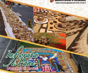 Locandina evento: XXVI Festa del Pane Casareccio IGP di Genzano