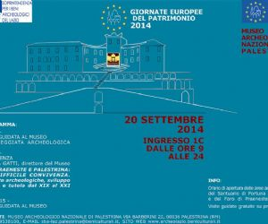 Locandina evento: Giornate europee del patrimonio 2014