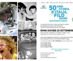 Locandina evento: 50 anni di storia d'Italia, per filo e per segno