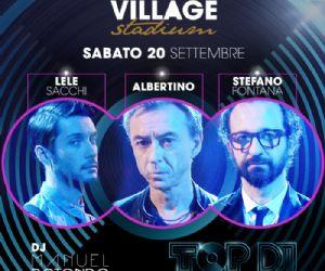 Locandina evento: ALBERTINO//FONTANA//SACCHI