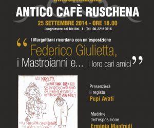Locandina evento: I Marguttiani ricordano Federico, Giulietta, i Mastroianni e... i loro cari amici