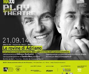 Locandina evento: Le rovine di Adriano